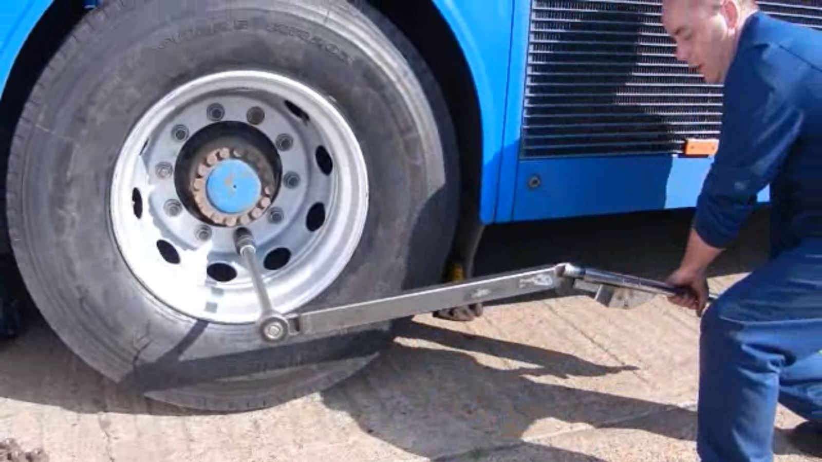 Torque Wrench in Action
