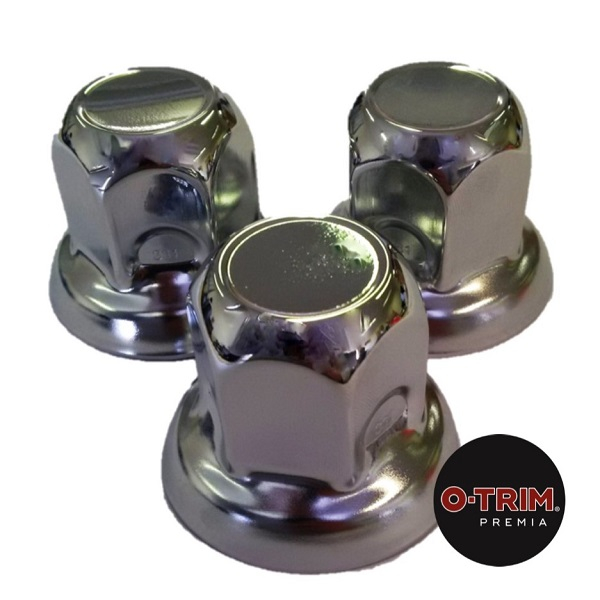 PACK OF 20 Stainless Steel Nut Caps for Alloy wheels 32mm-33mm