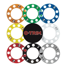 "Coloured Nut Rings for 22.5"" HGV Wheels"