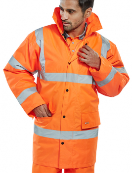 Hi Vis Traffic Jacket