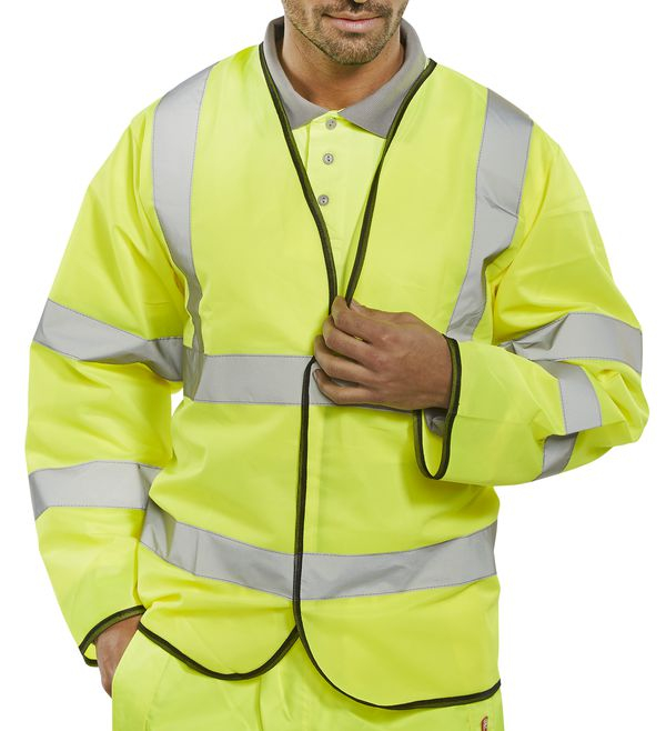 Long Sleeved High Visibility Vests