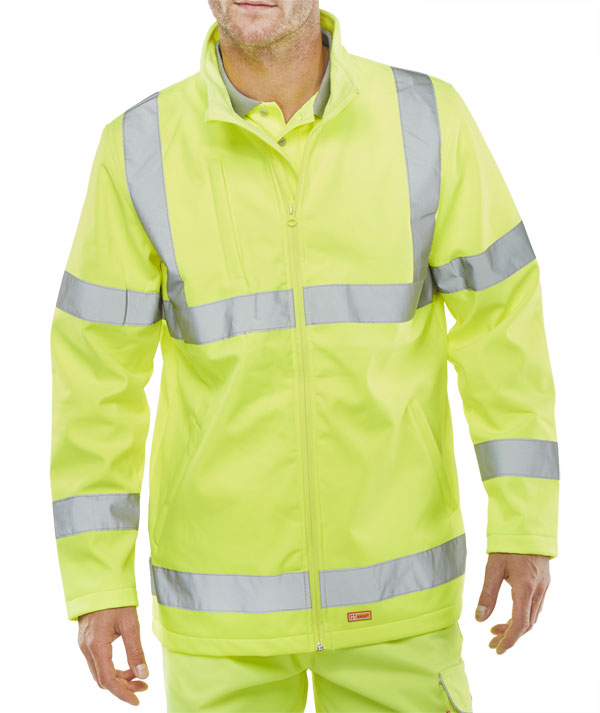 High Visibility Soft Shell Jackets