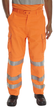 Rail Spec Orange Combat Style Trousers