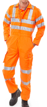 Rail Spec Orange Coverall