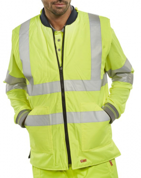 Hi Vis Reversible Body Warmers