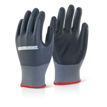 Nitrile Pu Mixed Glove