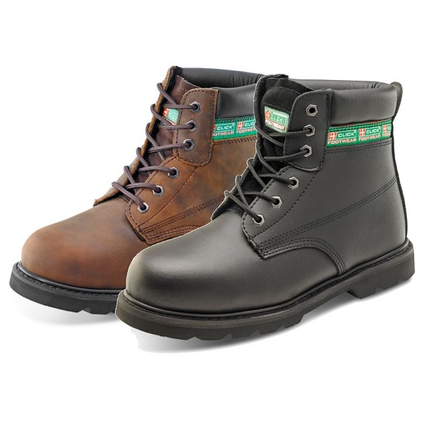 Goodyear Welted Safety Boot Available in Black & Brown