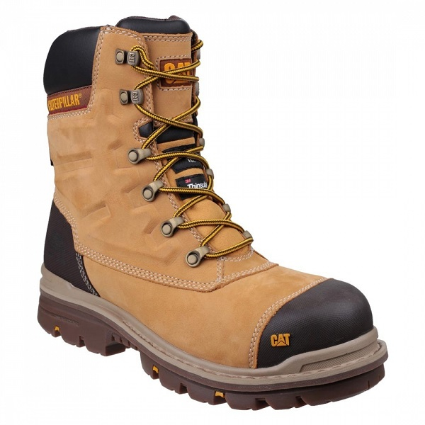 Caterpillar Premier Safety Boot Honey or Black Size 6 - 12