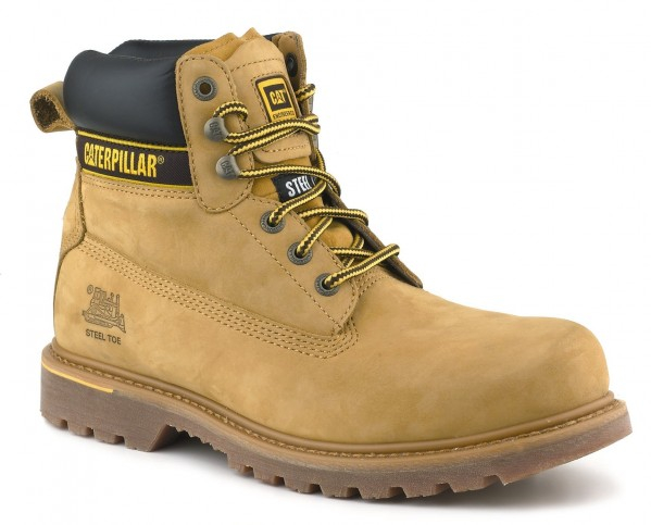 Caterpillar Holton Safety Boots available in 3 colours & size 6 - 12