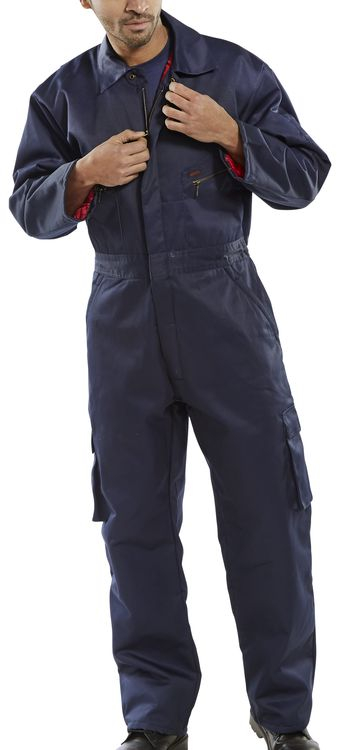Quilted Boiler Suits Chest size 36inch - 62inch