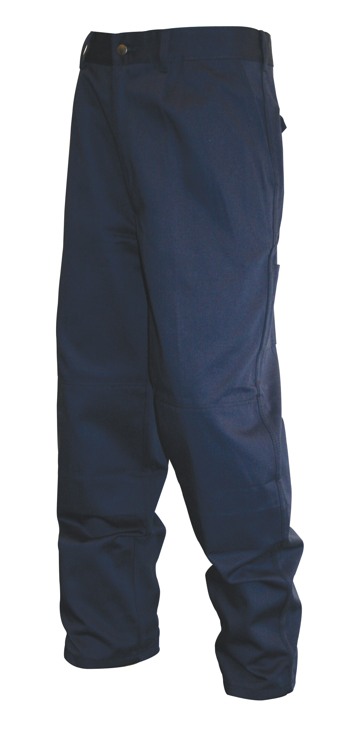 Heavyweight Drivers Trousers in Navy & Black