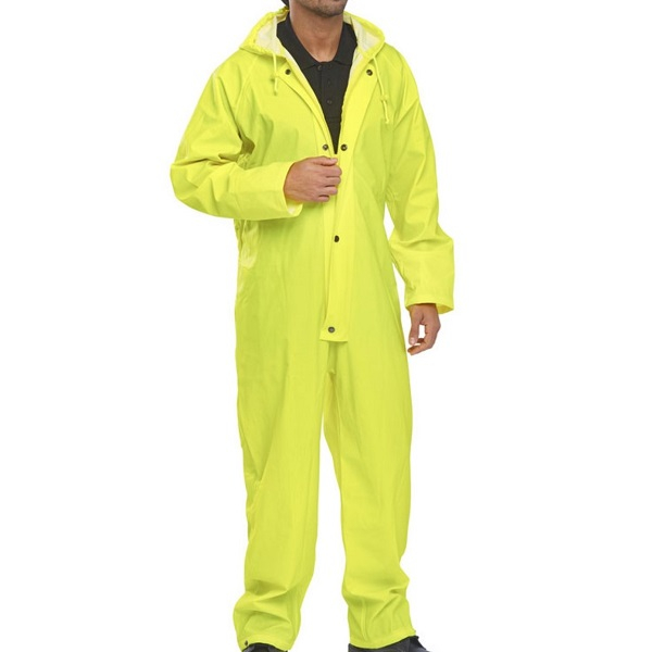 Waterproof Coverall - Yellow