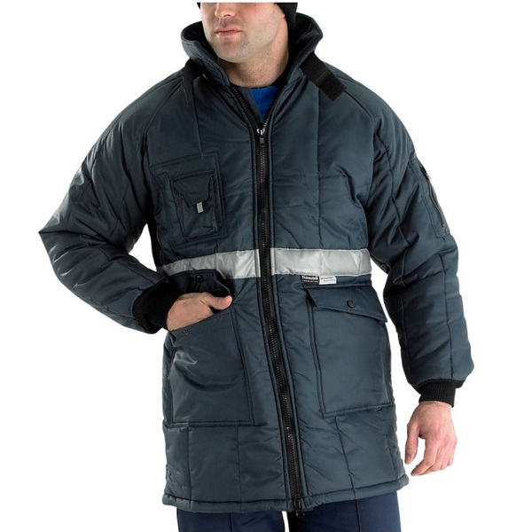 Cold Store Jacket with Hood