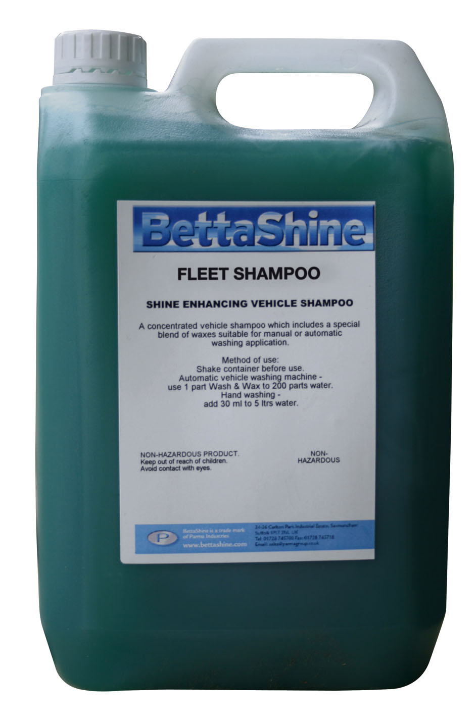 Fleet Shampoo & Wax
