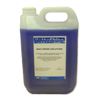 Wax Rinse Solution