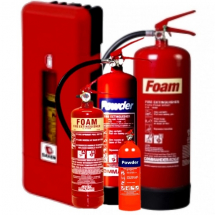 Emergency Workplace and Vehicle Fire Extinguishers