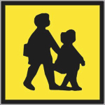 Self Adhesive School Bus Signs