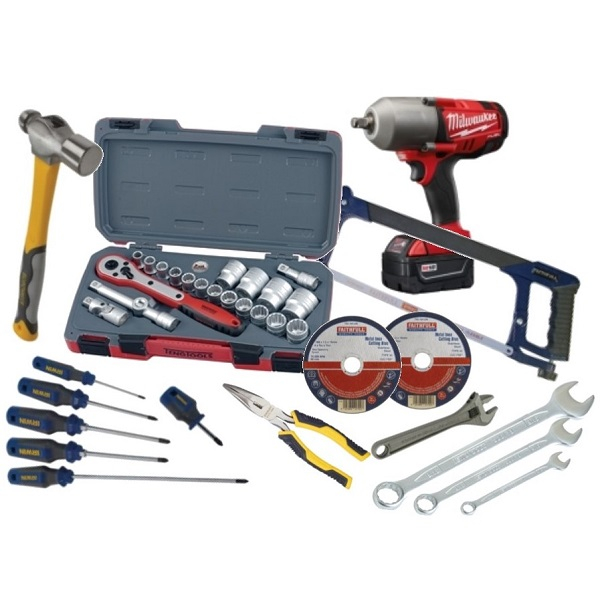 Workshop Tools and consumables