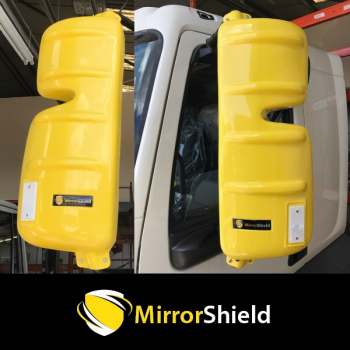 Pair DAF LF 2007 on (Euro 5 & 6) Mirrorshield Mirror Guard Protector Covers