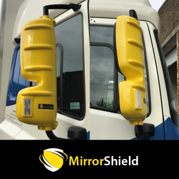 Pair DAF CF & XF Mirrorshield Mirror Guard Protector Covers