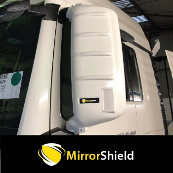Pair MAN TGX Mirrorshield Mirror Guard Protector Covers