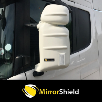 Pair Scania R, G & P Series Mirrorshield Mirror Guard Protector Covers