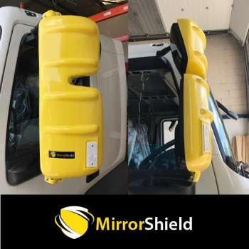 Pair Volvo FE & FL 2007 on Mirrorshield Mirror Guard Protector Covers