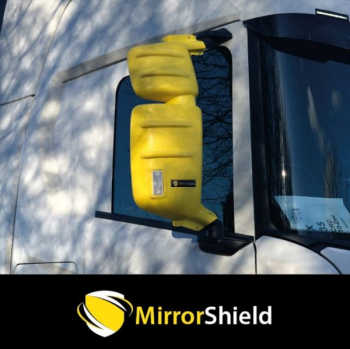 Pair Scania Next Gen,S,R,G,P,XT & L Series Mirrorshield Mirror Guard Protector Covers