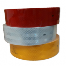Roll Reflective Conspicuity Marking Tape HGV Truck Trailer