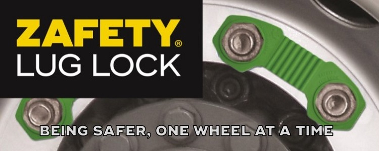Read about the award-winning Zafety Lug Lock wheel safety device