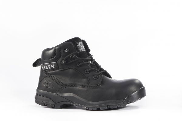 Onyx Ladies Workboot-size 5 - Black