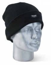 Thinsulate Microfibre Beenie Hat - Black