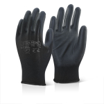 Pair Size 10 Workshop Tyre Fitting Glove Black