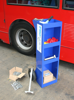 Workshop Storage & Mobility Trolley for Prolock clamps and tools