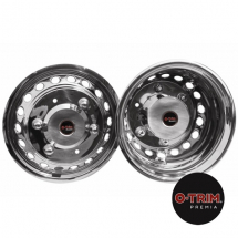O-Trim 16inch Stainless Steel Wheel trims for Mercedes Sprinter/Crafter(2006 on)Twin Rear Wheels