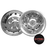 "O-Trim 16"" Stainless Steel Wheel trims for Ford Transit(2014 on model only)Twin Rear Wheels"