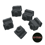 Pack of 10 Rubber Blocks in plastic clip on holder - For Ring Fit Trims