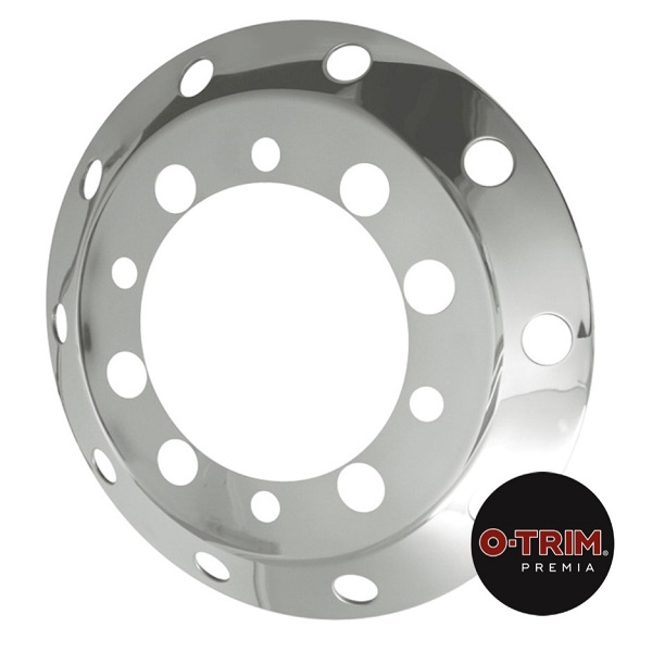 "22.5"" Stainless Steel Front Axle Liner -  1 Pair"