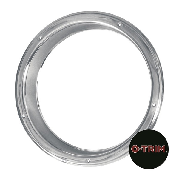 "Pair 22.5"" Stainless steel Rear Wheel Liners - Rim only."