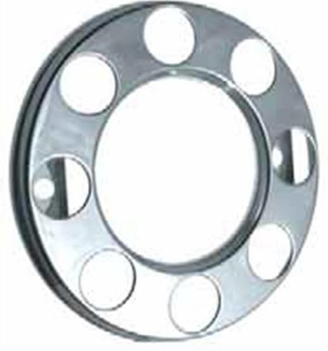 SINGLE 8 Stud nut ring open centre  (275mm PCD) front wheels