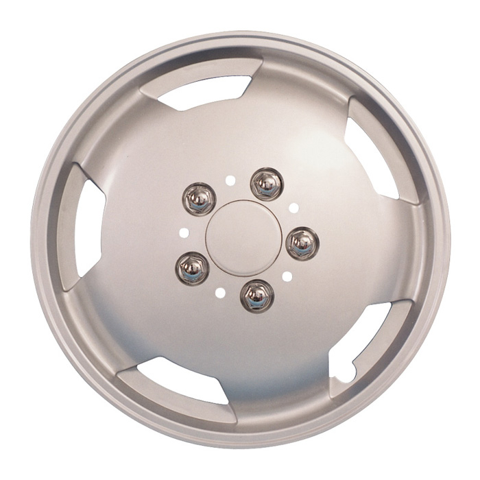 PAR-842 15S Set of 4 Silver ABS plastic 15inch deep dish Wheel Trims
