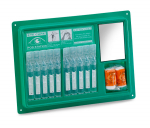 Emergency First Aid Workplace Wall mounted Eye Wash Station 10 Pods