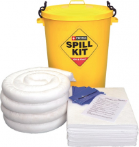 PFX-1241 90 Litre Oil& Fuel Spill Bin with clip down lid
