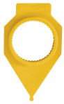 32mm Propoint Wheel Nut Safety Marker - Yellow