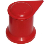 27mm Procap Wheel nut Indicator - Long reach - Red