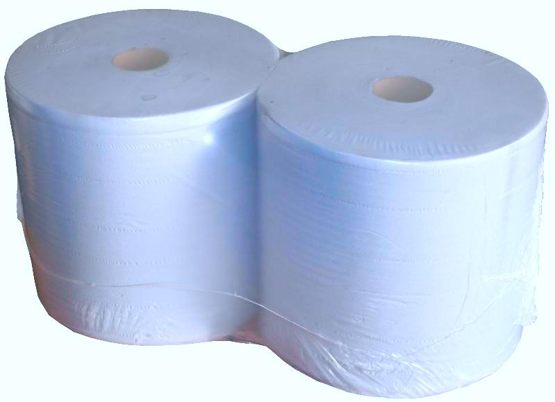 Pack 2 Blue Paper Rolls 2 Ply 400m x 280mm