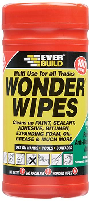 Trade Tub 100 Wonder wipes