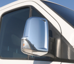 Pair O-Trim Stainless Steel Mirror Covers for Mercedes Sprinter/Volkswagen Crafter 2006-2018