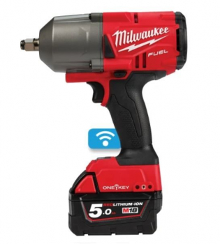 Milwaukee 1/2Inch Cordless Impact Wrench 18V 2 x 5.0Ah Li-ion  M18ONEFHIWF12-502XFUEL ONE-KEY