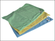 Pack of 6 30cmx40cm Microfibre Cloths